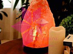 Hít thở bầu không khí trong lành, sạch khuẩn với đèn đá muối hồng Himalaya1