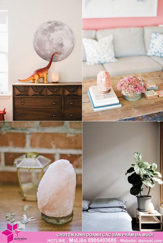 Biến không gian nhà bạn trở nên ấm áp, sang trọng hơn với đèn đá muối hồng Himalaya_2