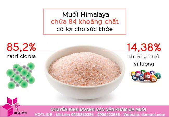 """Lấy lại sức sống cho làn da sau những ngày """"quẩy"""" tết bằng muối khoáng hồng Himalaya _1"""