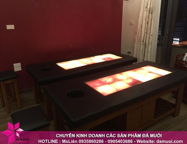 Bật mí cấu tạo, công dụng và cách sử dụng giường đá muối nóng 2