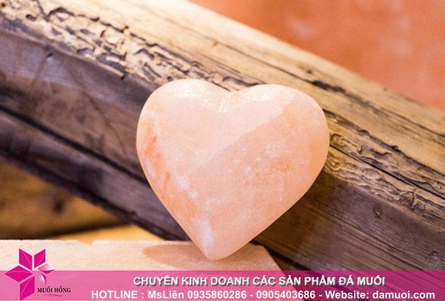 Địa chỉ cung cấp đá muối massage hình trái tim chất lượng 1