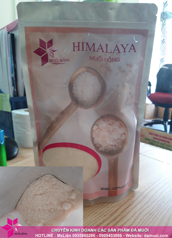 Muối Hồng Group tuyển khách sỉ sản phẩm muối hồng Himamaya 1
