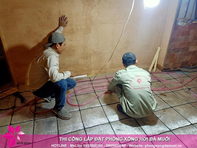 Hinh anh trien khai thi cong du an JjimJilBang Bich Hoa 6