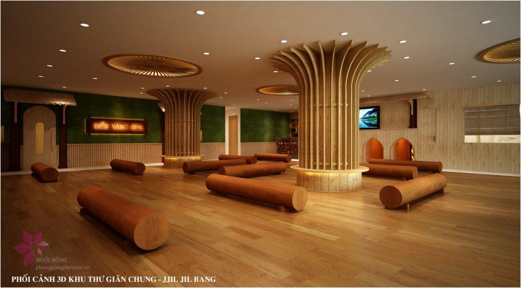 Khu xong hoi jjimjilbang khach sạn Bien Vang 2